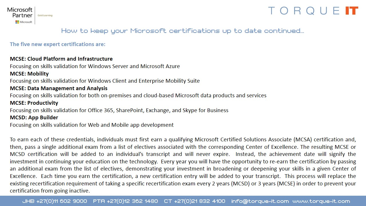 Microsoft microsft certifications microsoft certifications continued xflitez Gallery